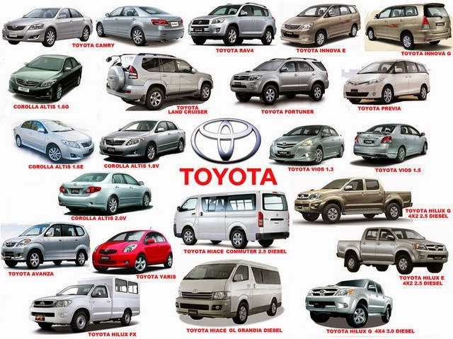 Toyoto cars all models